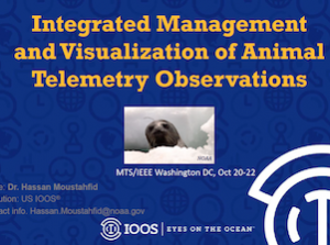 Integrated Management and Visualization of Animal Telemetry Observations