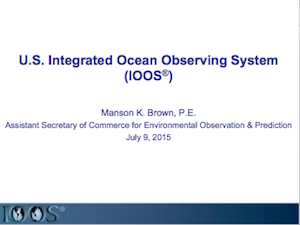 An Overview of U.S. IOOS
