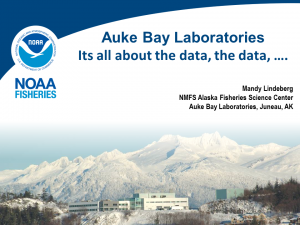 Auke Bay Labs: It's all about the data, the data...