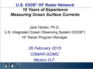U.S. IOOS HF Radar Network: 10 Years of Experience Measuring Ocean Surface Currents