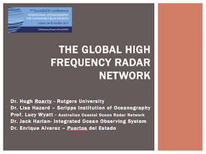 GEO Global High Frequency (HF) Radar Network Component