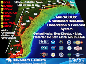 MARACOOS - A Sustained Real-Time Observation and Forecast System