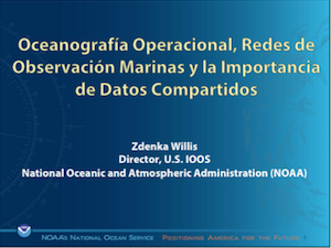 Operational Oceanography, Marine Observing Networks and Oceanographic Data Distribution Policy in the United States
