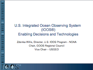 U.S. IOOS Enabling Decisions and Technologies