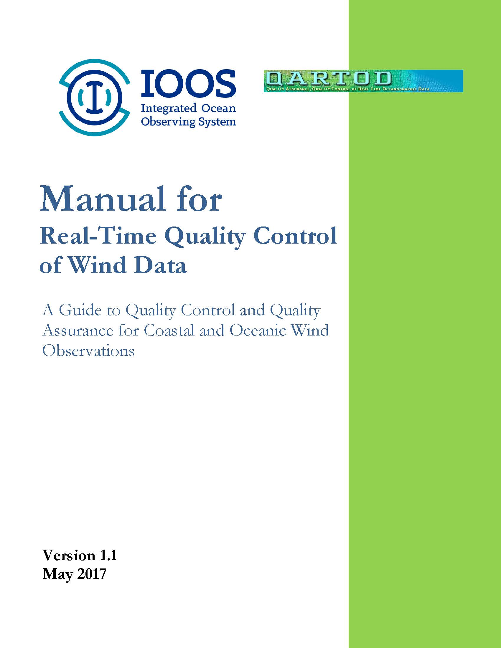QARTOD wind manual