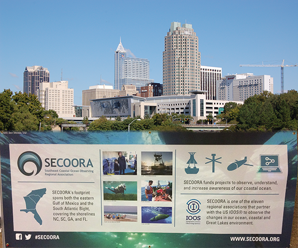 Image of Raleigh Skyline and SECOORA Fact sheet