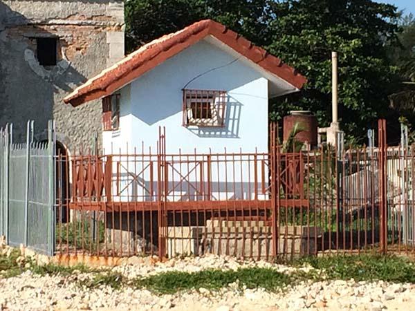Small house on the beach