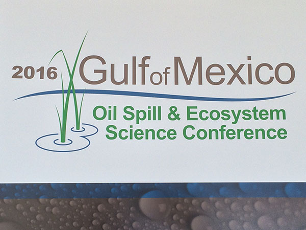2016 Gulf of Mexico Oil Spill & Ecosystem Conference