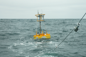 ince 2010, NANOOS has maintained this buoy, Cha'ba, off the coast of La Push, WA, to provide vital information on ocean conditions off the coast and near the Strait of Juan de Fuca.