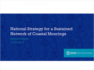 National Strategy for a Sustained Network of Coastal Moorings