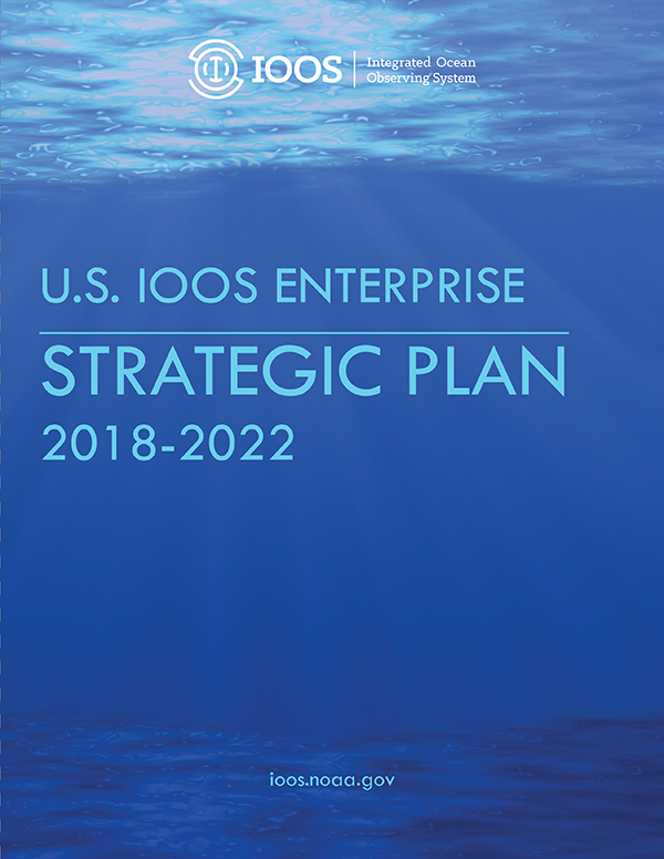 Cover of U.S. IOOS Enterprise Strategic Plan