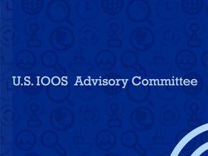 U.S. IOOS Advisory Committee