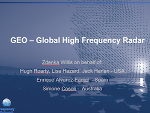 GEO – Global High Frequency Radar