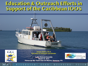 CARICOOS Education  & Outreach