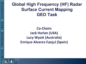 Global High Frequency (HF) RadarSurface Current MappingGEO Task