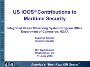 U.S. IOOS® Contributions toMaritime Security