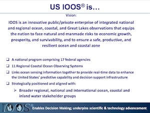 IOOS Enables Decision Making