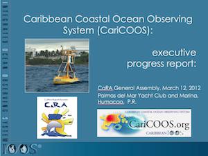 CARICOOS Executive Progress Report