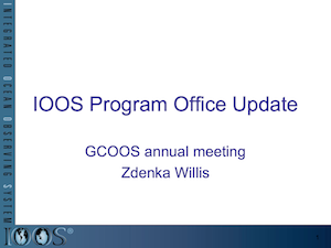 IOOS Program Office Update