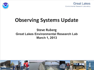 Observing Systems Update