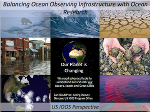 Balancing Ocean Observing Infrastructure with Ocean Research