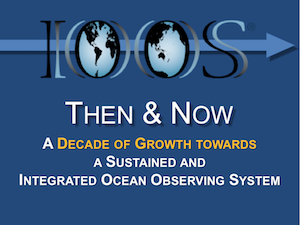 Then and Now - A Decade of Growth towards a Sustained and Integrated Ocean Observing System
