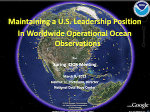 Maintaining a U.S. Leadership Position In Worldwide Operational Ocean Observations