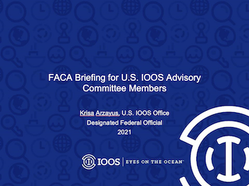 U.S. IOOS Advisory Committee 101